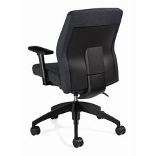 Mid-Back Multi Office Chair with T-Arms