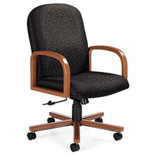 Selectra Mid-Back Pneumatic Office Chair