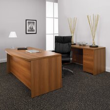 Correlation 2-Piece Standard Desk Office Suite