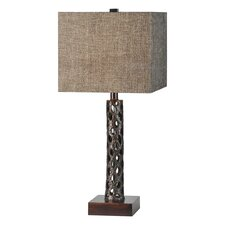 """Luisa 27"""" H Table Lamp with Square Shade"""