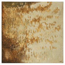 Gold Rush by Charlene Lynch Painting Print on Canvas