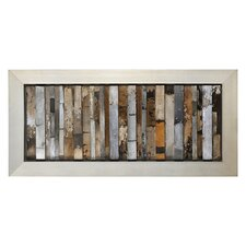 Urban Abstract by Pierrick Paradis Framed Original Painting
