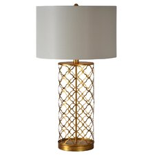 "Stardust 29"" H Table Lamp with Drum Shade"