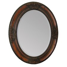 Oval Frame Wall Mirror