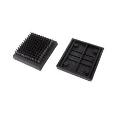 2 Piece Grill Brush Replacement Head Set