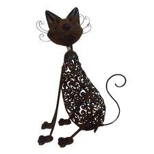 Metal Art Cat Figurines