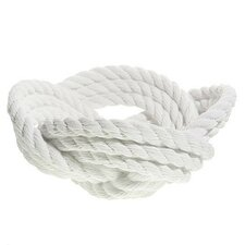 Reality Rope Knot Decorative Bowl II