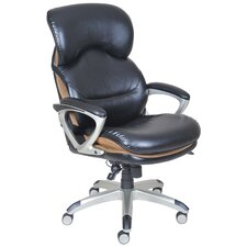 High Back Leather Executive Chair with Flexible AIR™