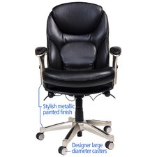 Back in Motion™ Health and Wellness Mid-Back Conference Chair
