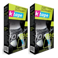 Precut Kinesiology Tape for Knee and Wrist (Set of 2)