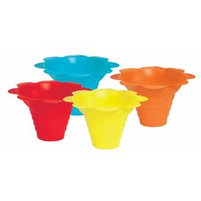 Flower Sno Cone Drip Cup (Set of 100)