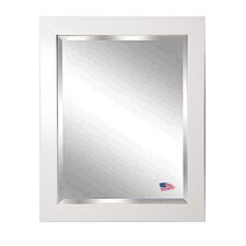Jovie Jane Glossy White Wall Mirror