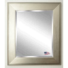 Jovie Jane Brushed Silver Wall Mirror