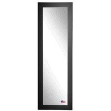 Ava Black Satin Full Length Body Mirror