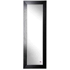 Ava Black Leather Full Length Body Mirror