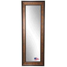 Ava Wooden Bronze and Black Tall Body Mirror