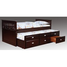 Captain Bed with Trundle