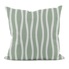Wavy Stripe Throw Pillow