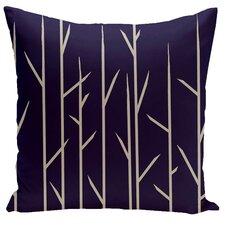 Floral Woven Throw Pillow