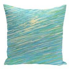 Decorative Abstract Coastal Throw Pillow