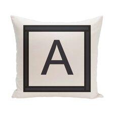 Amsterdam Monogram Throw Pillow