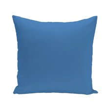 Bold Solid Decorative Indoor/Outdoor Floor Pillow