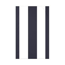 Awning Stripe Stripe Print Polyester Fleece Throw Blanket