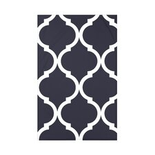 French Quarter Geometric Print Polyester Fleece Throw Blanket