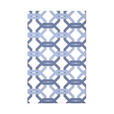 We're All Connected Geometric Print Polyester Fleece Throw Blanket