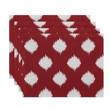Ikat Dot Geometric Placemat (Set of 4)