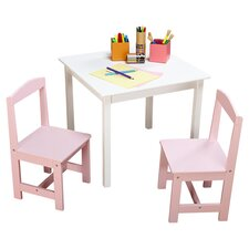 Hayden Kids 3 Piece Table & Chair Set