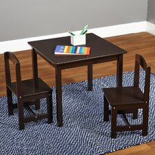 Hayden Kids 3 Piece Square Table & Chair Set