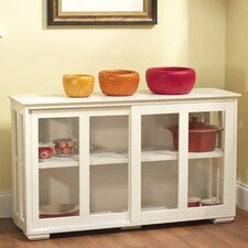 Kitchen Island with Wooden Top