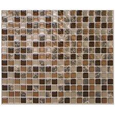 "Mosaïk 11.55"" x 9.65"" Mosaic Tile in Minimo Roca"