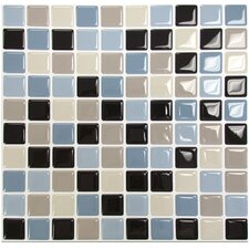 "Mosaik 3"" x 3"" Mosaic Tile in Multi"