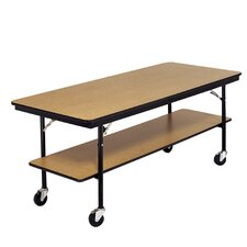 Plastic Laminate Plywood Top Utility Table