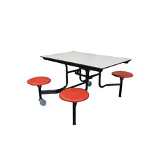Mobile 4 Stool Table