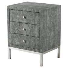 Ayers 3 Drawer Chairside Chest