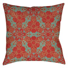 Tea House Patterns 13 Printed Throw Pillow