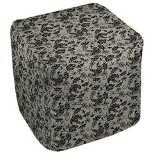 Sultry Blues Ottoman