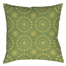 Tropical Breeze Patterns Printed Throw Pillow