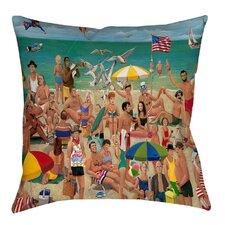 Life's a Beach Indoor/Outdoor Throw Pillow