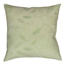 Leaves Narrow Printed Throw Pillow