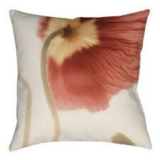 Mystic Poppy 2 Printed Throw Pillow