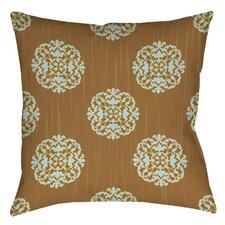 Bold in Blue Medallion Indoor/Outdoor Throw Pillow