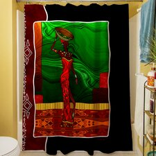 African Beauty I Shower Curtain