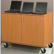 Mobiles Locking Laptop Storage