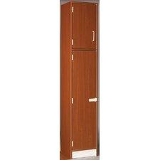 2 Tier 1 Wide Cabinet Locker