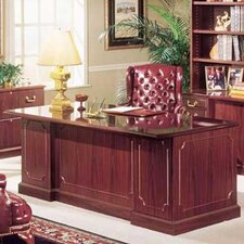 Bedford Executive Desk with Double Pedestal