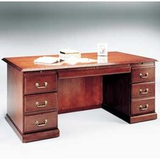 Legacy Executive Desk with 3 Right & 3 Left Drawers